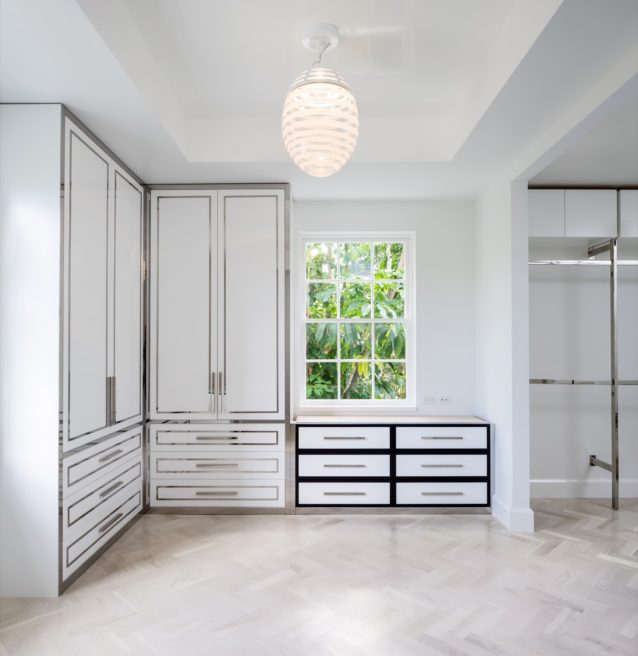 Polished Modern Closet