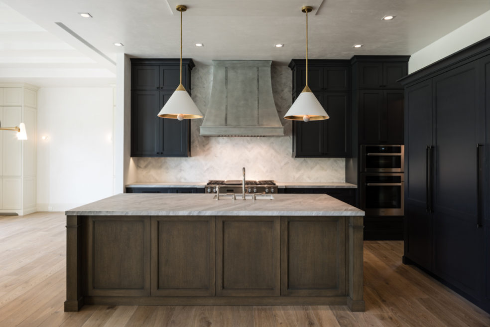 Bold and Classic Kitchen